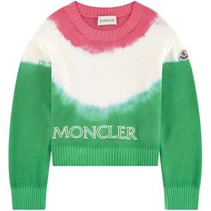 Moncler Tie Dye Tröja Grön 14 år