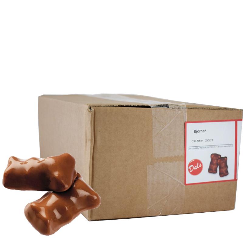 Chokladdragerad Gelébjörn 2kg - 60% rabatt