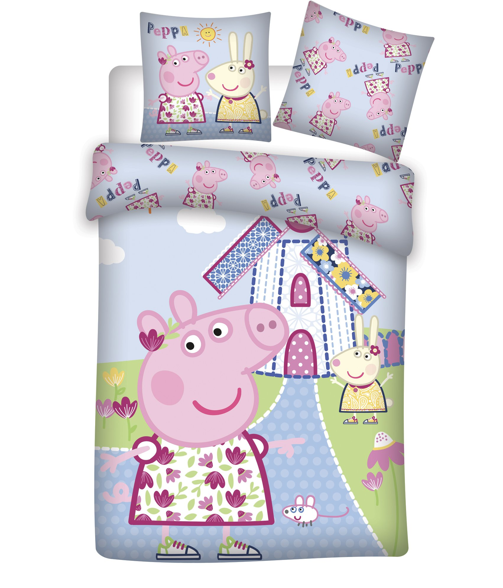 Bed Linen - Junior Size 100 x 140 cm - Peppa Pig (1000382)
