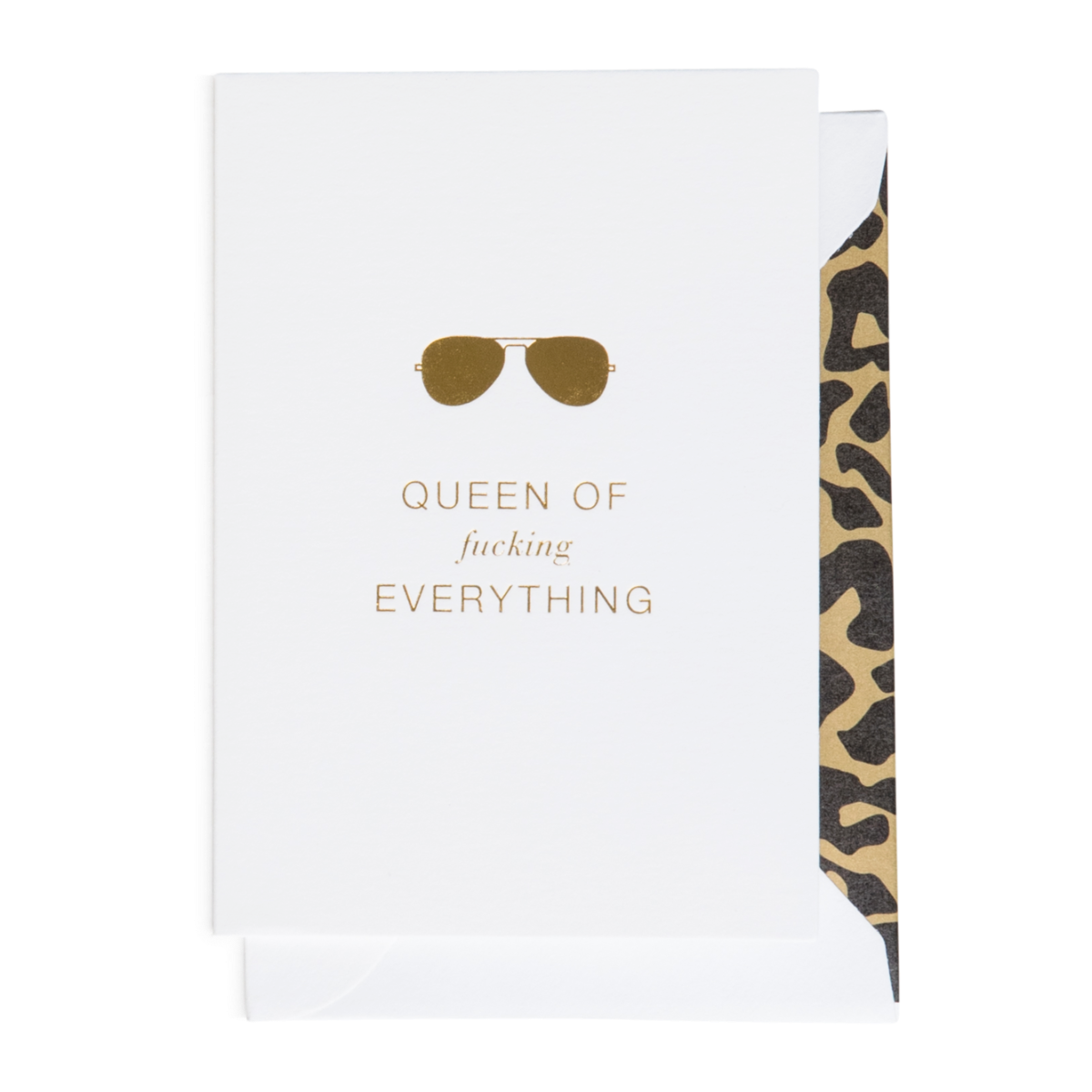 Cardsome | Cards - Queen of F*cking Everything (A7)