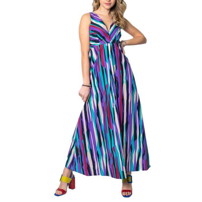 Please Women's Dress Purple 172053 - purple XS