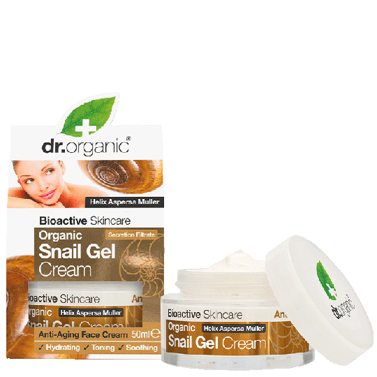 Organic Snailgel Cream, 50 ml