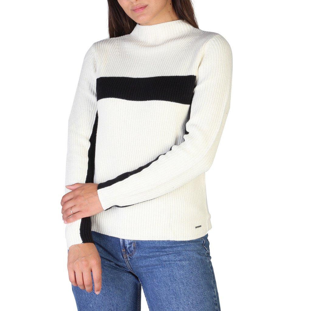 Calvin Klein Women's Sweater White J20J206013 - white S