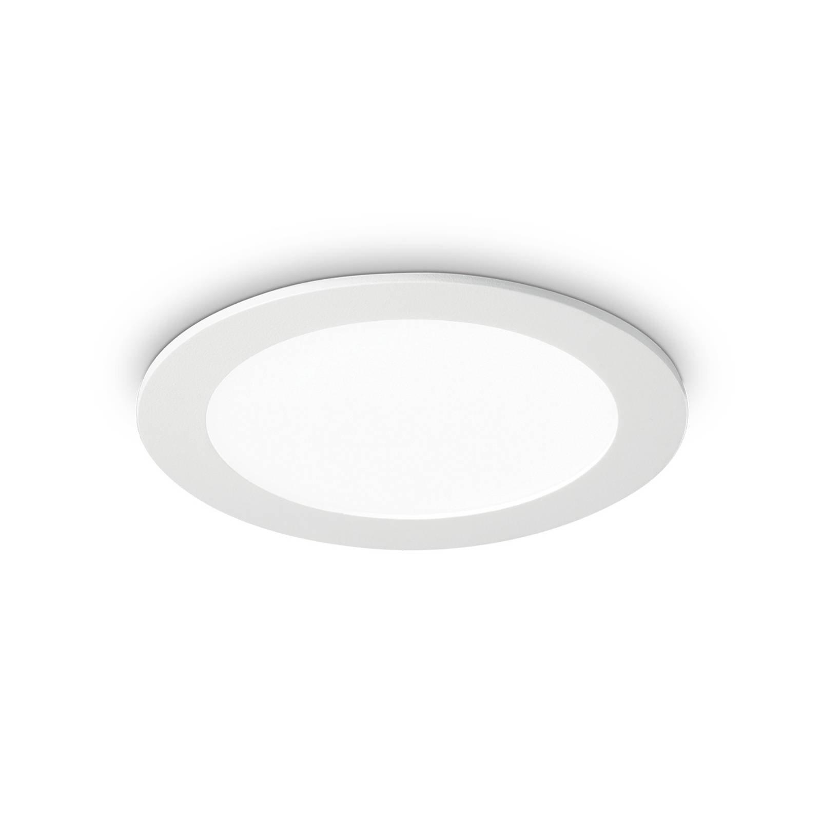 LED-taklampe Groove round, 3 000 K, 11,8 cm
