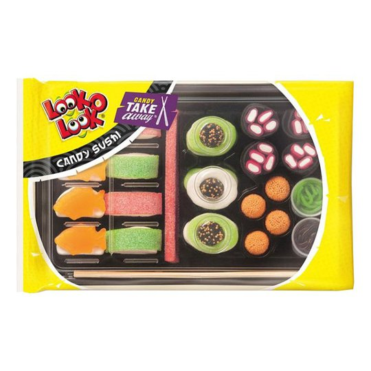 Look-O-Look Sushi Godis - Liten (9 bitar)