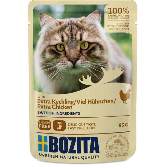 Bozita Feline Bitar i Sås med Kyckling