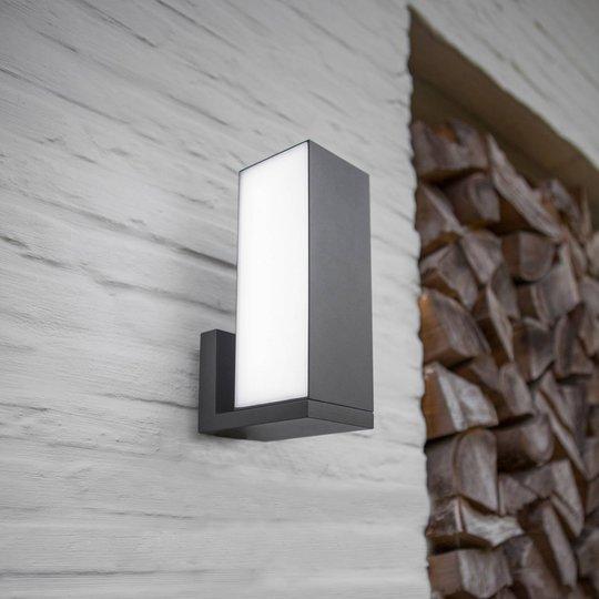 Cuba utendørs LED-vegglampe CCT smart