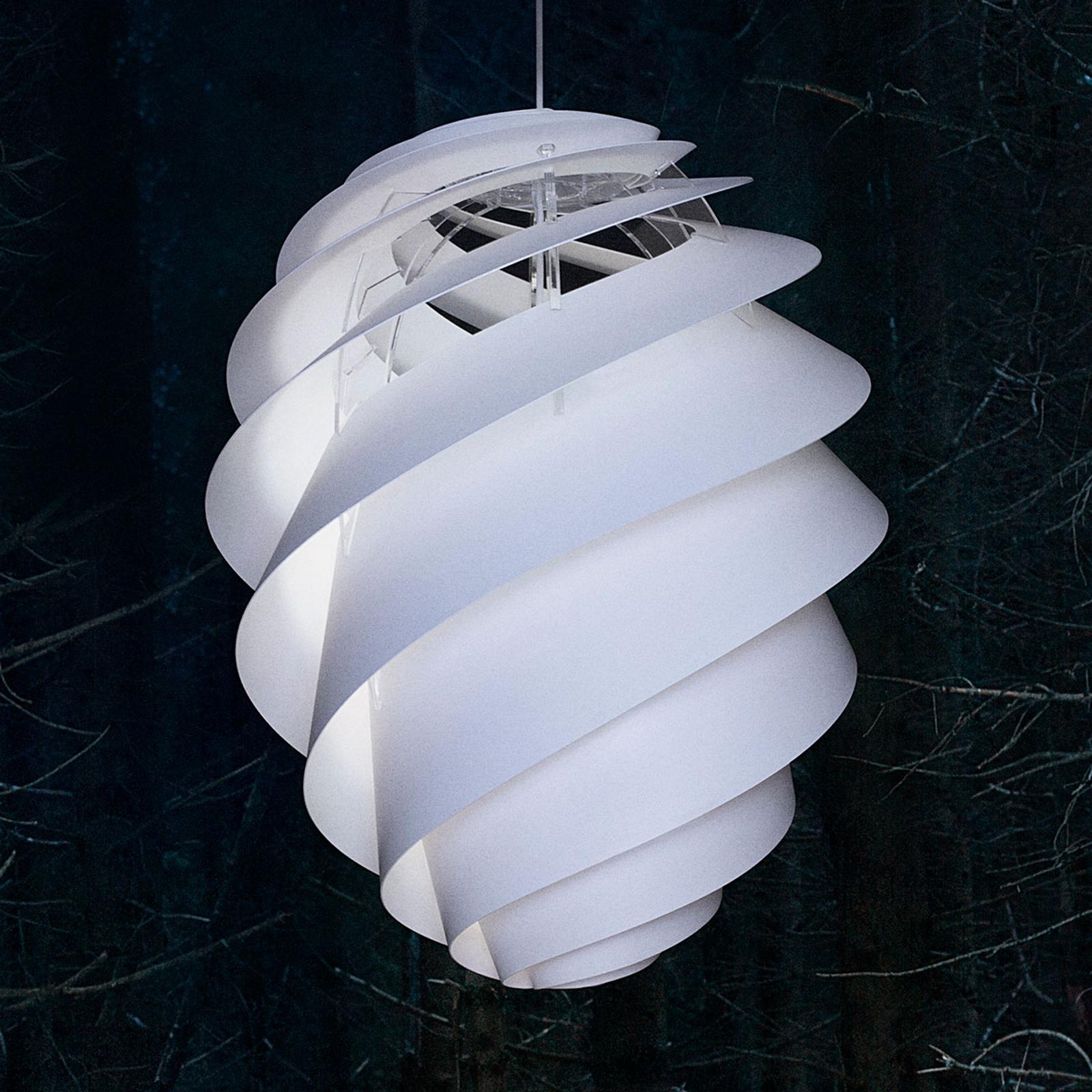 LE KLINT Swirl 2 Large -riippuvalaisin, valkoinen