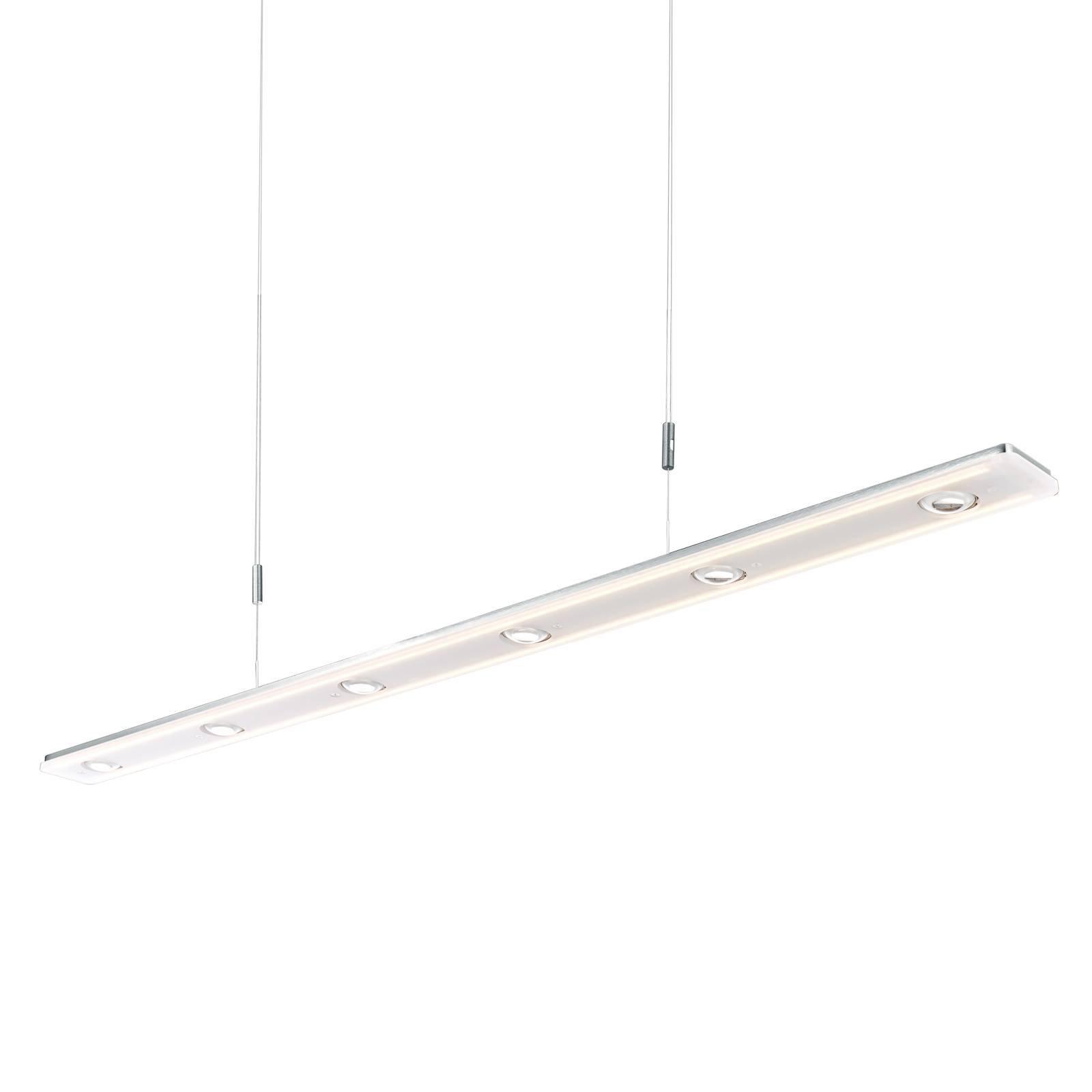 BANKAMP Caro LED-hengelampe, aluminium