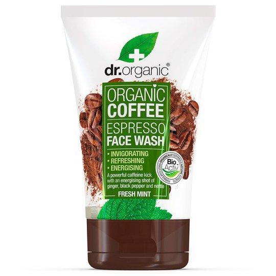 Dr. Organic Coffee Mint Face Wash, 125 ml