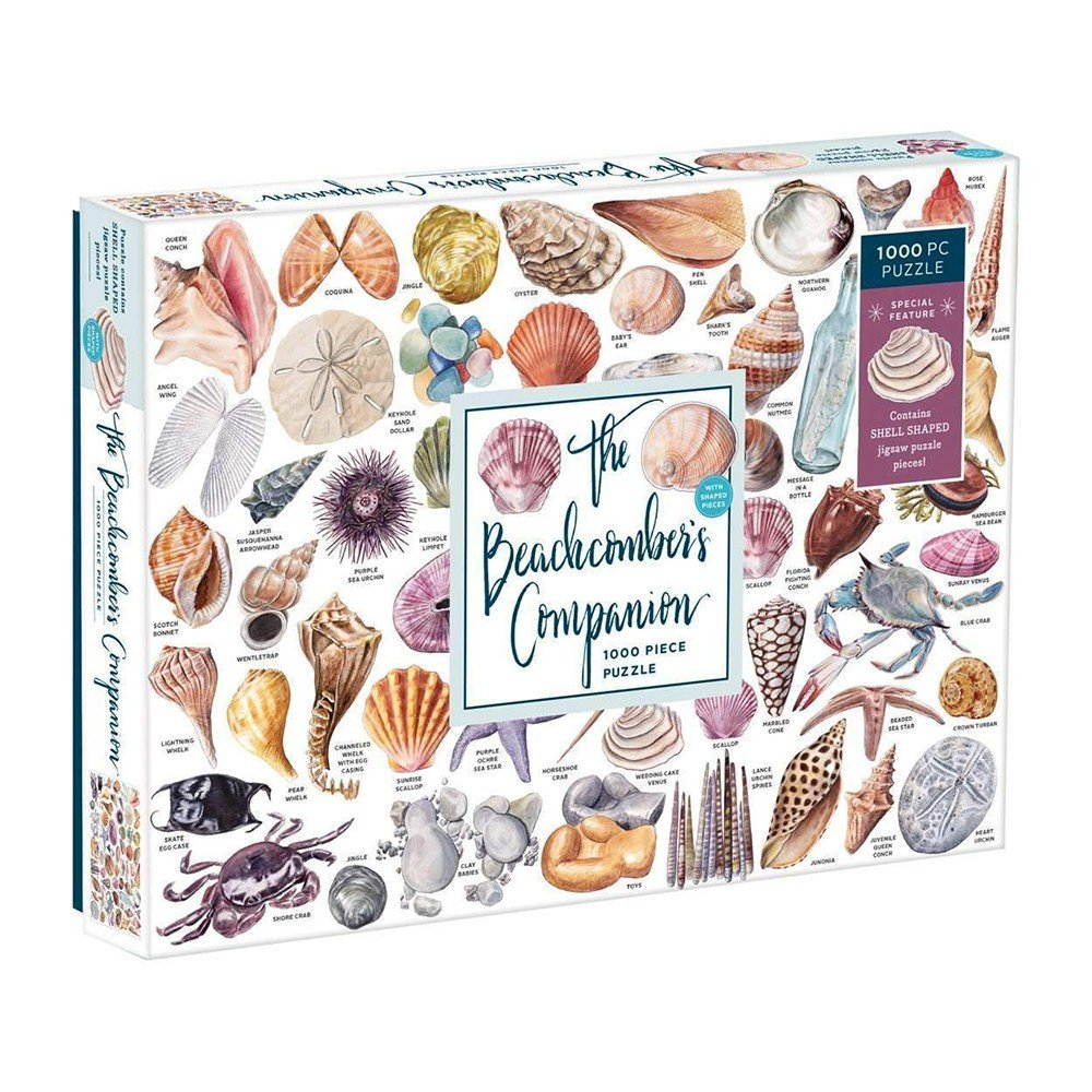 Mudpuppy - Puzzle 1000 Piece - The Beachcomber's Companion - With Shaped Pieces (M57051)