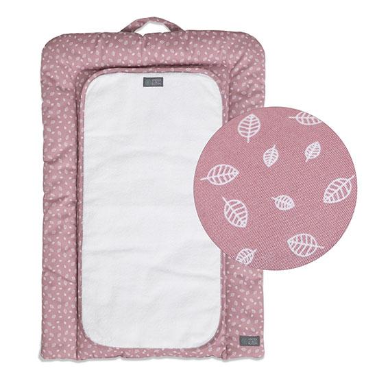 Vinter & Bloom - Nordic Leaf Changing Mats - Soft Pink