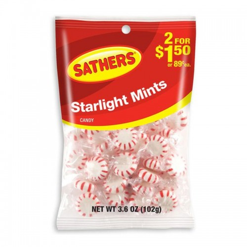Sathers Starlight Mints 102g