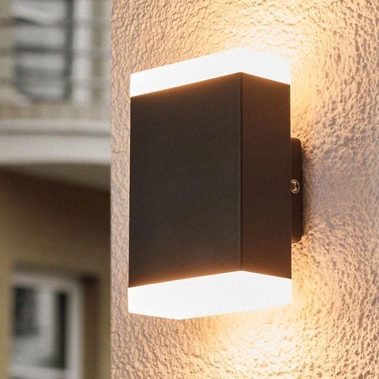 Ajaton LED-seinävalaisin Aya ulkokäyttöön, IP44