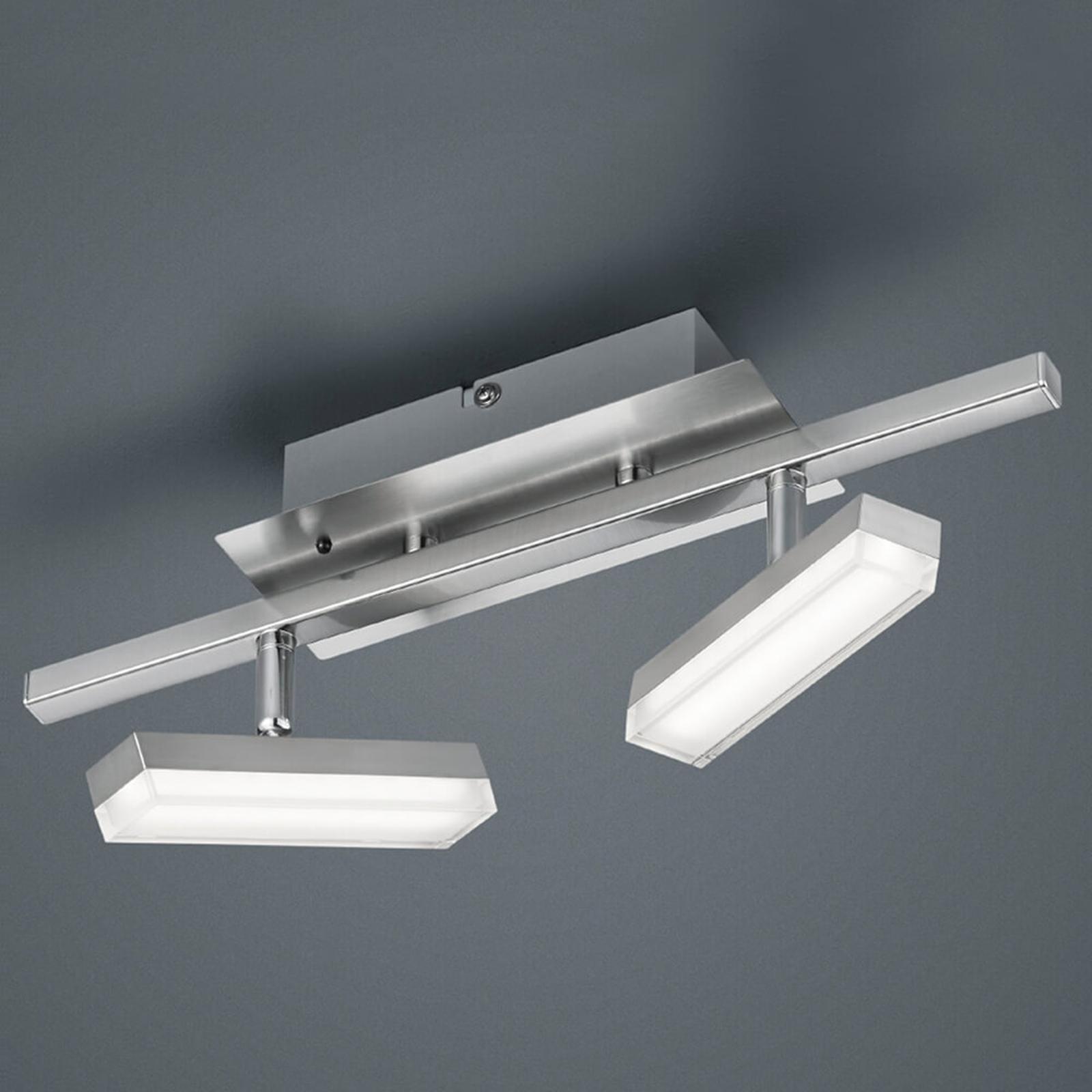 2-lamp. RGB-LED-kattovalaisin Bondy, kaukosäädin