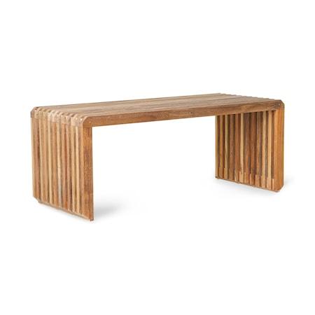 slatted Bench/Element Teak
