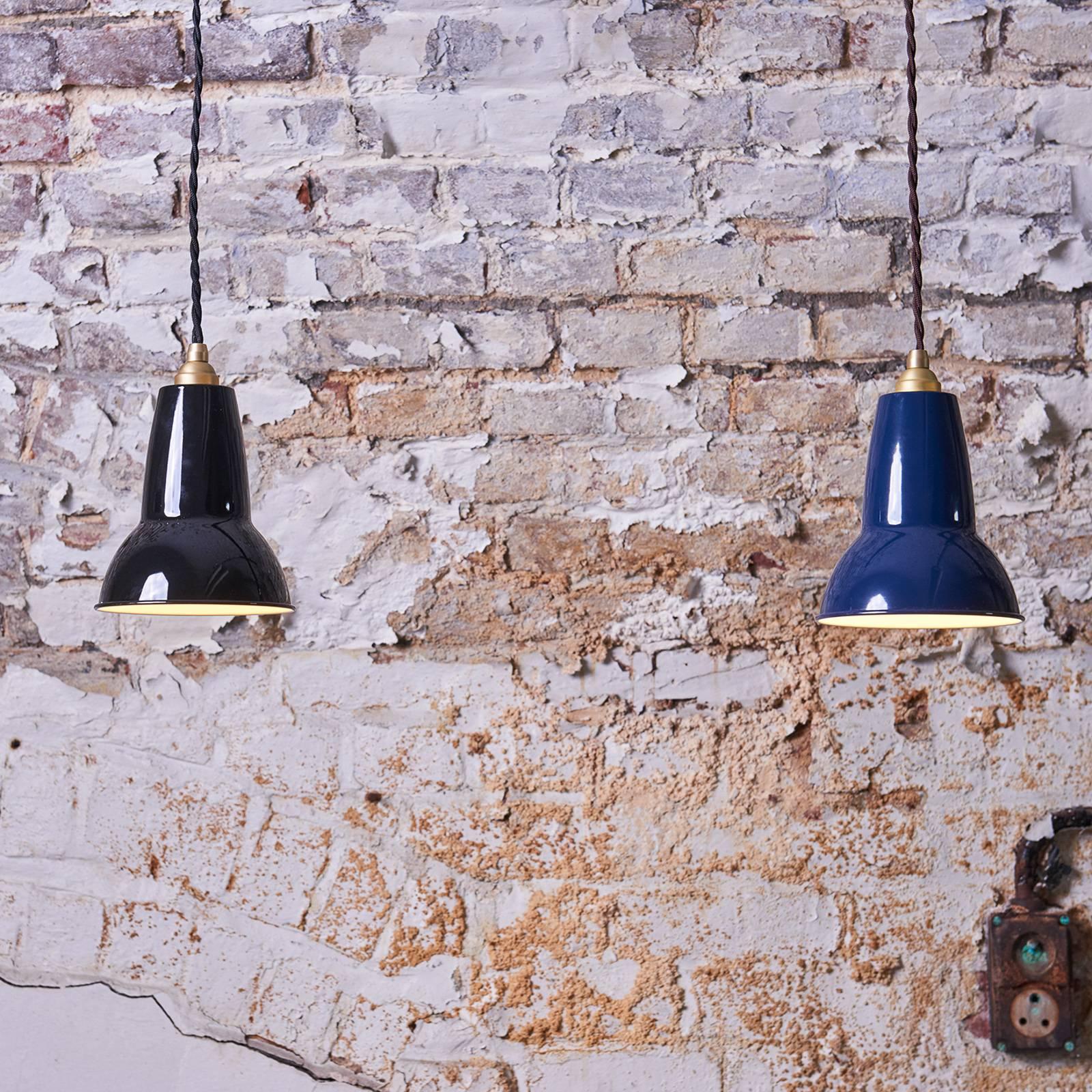 Anglepoise Original 1227 Brass-riippuvalo, sininen
