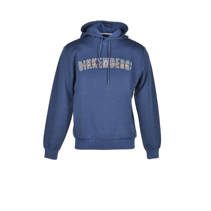 Bikkembergs Men's Sweatshirt Blue 306357 - blue M