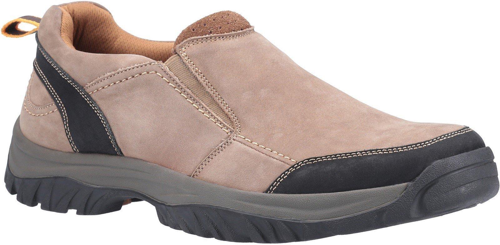 Cotswold Men's Boxwell Slip On Hiking Shoe Various Colours 30149 - Tan 7