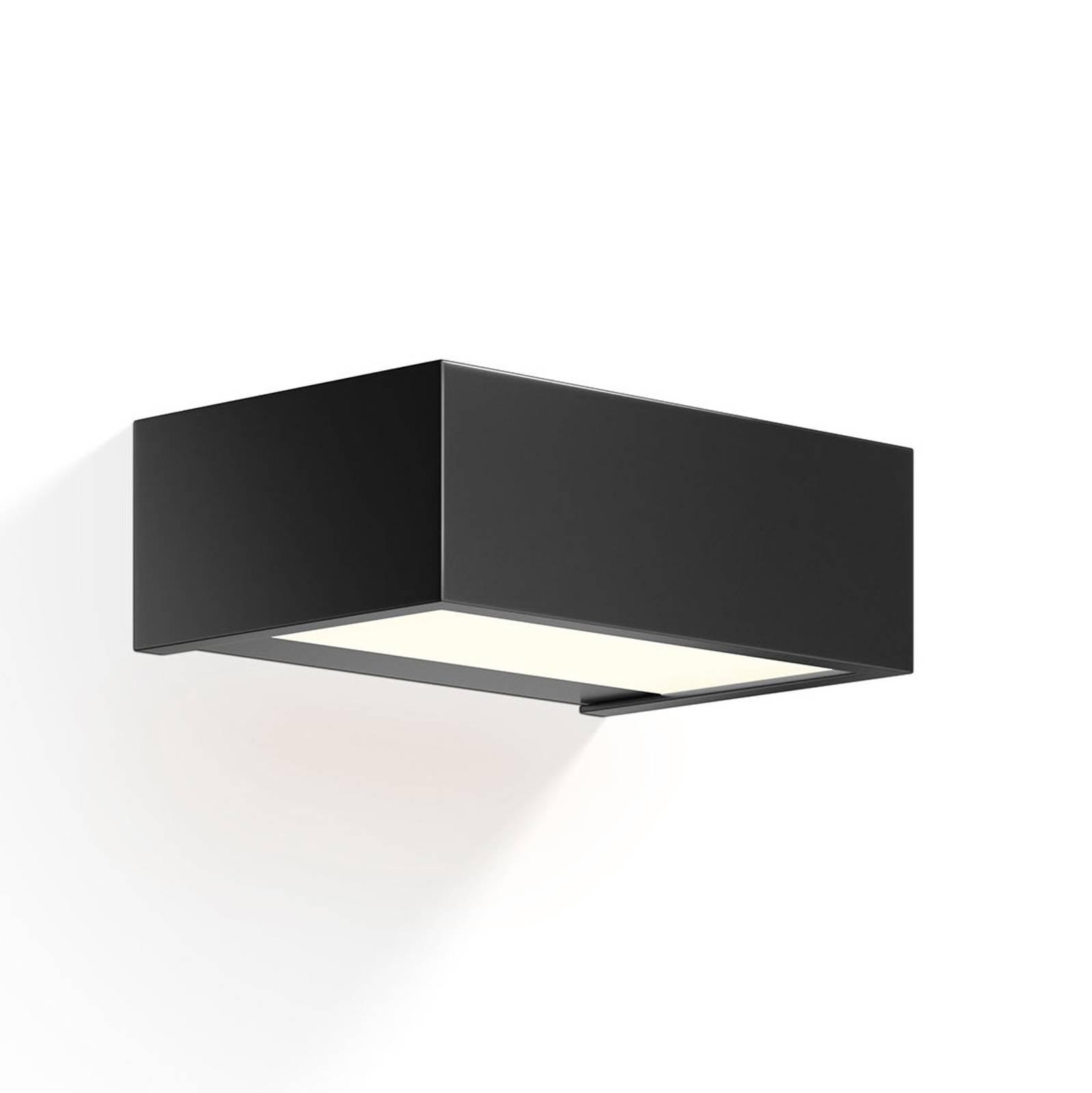 Decor Walther Box LED-valaisin musta 2700K 15cm