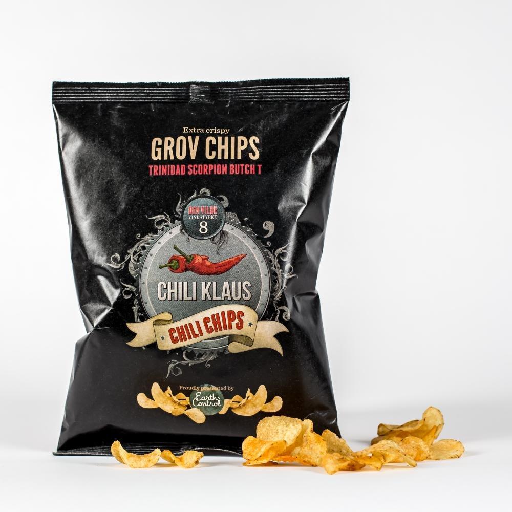 Chili Klaus Chili Chips vindstyrke 8 150g