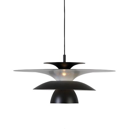 Picasso Pendel Mattsvart LED 50 cm