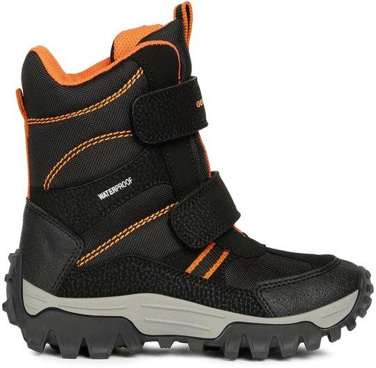 Geox Himalaya WPF Vintersko, Black/Orange 24