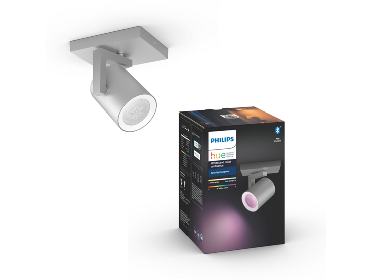 Philips Hue - Argenta Single Spot - White & Color Ambiance