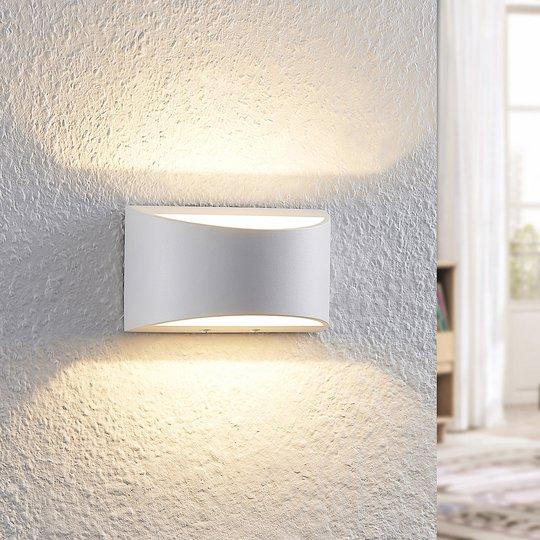Arcchio Jasina -LED-seinävalaisin puolipyöreä