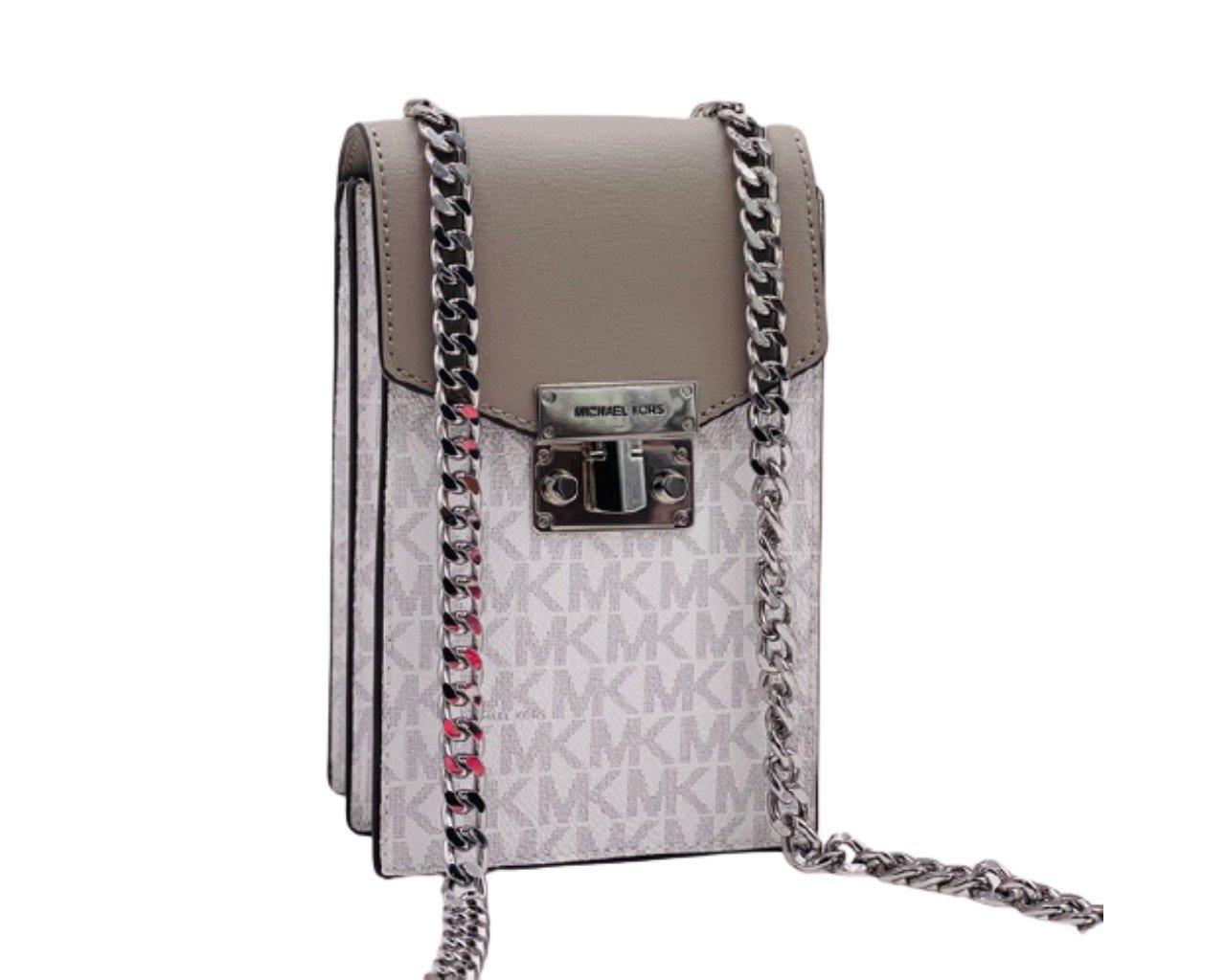Michael Kors Women's Rose Crossbody Bag White MK30352