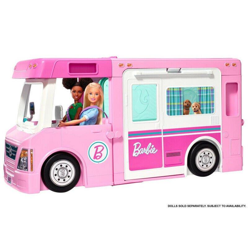 Barbie - 3-in-1 Dream Camper (GHL93)