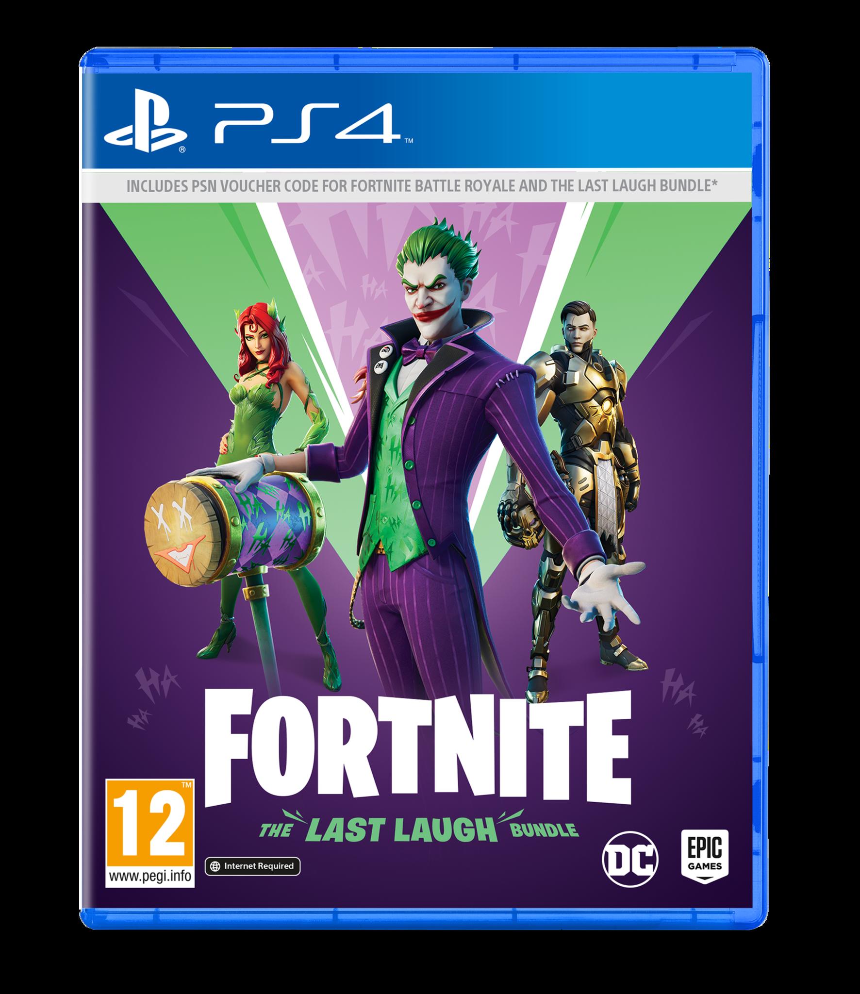 Fortnite The Last Laugh (Code in a Box)