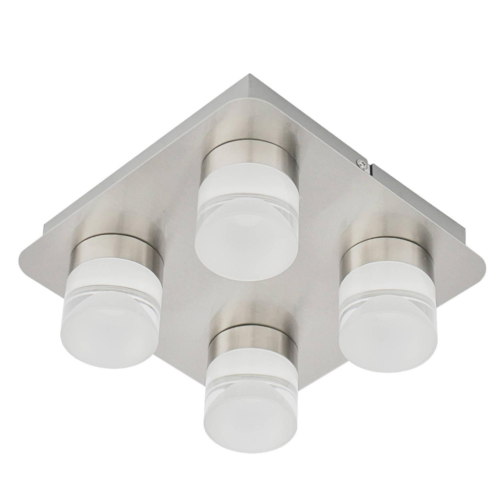 Taklampe Stefanie med fire LED-lyskilder