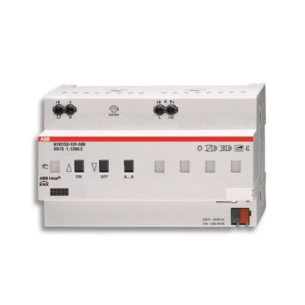 ABB 6197-0-0040 Valonsäädin 1–6 kanavaa KNX Suurin kytkentäteho: 1260 W