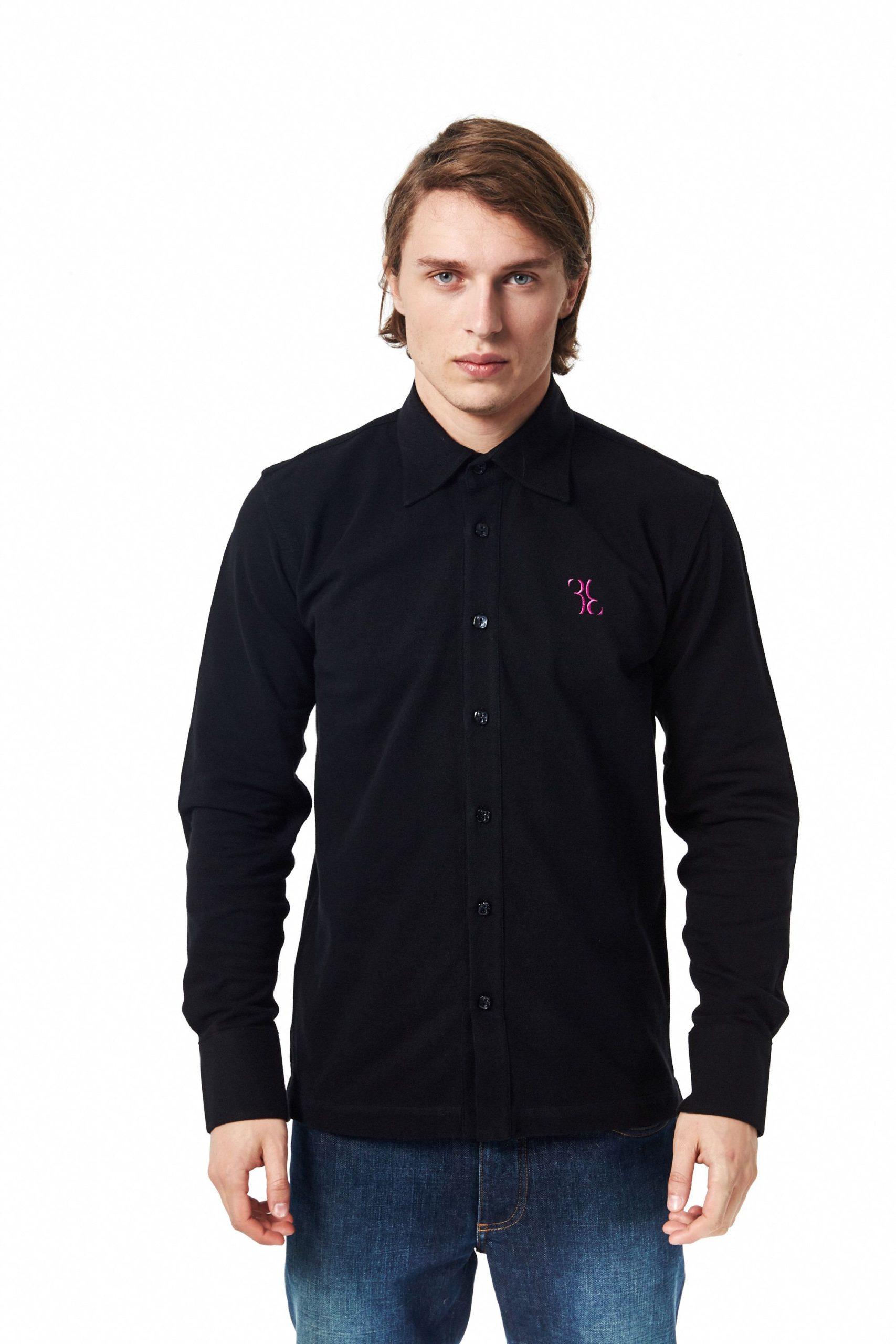 Billionaire Italian Couture Men's Shirt Black BI1394672 - XS