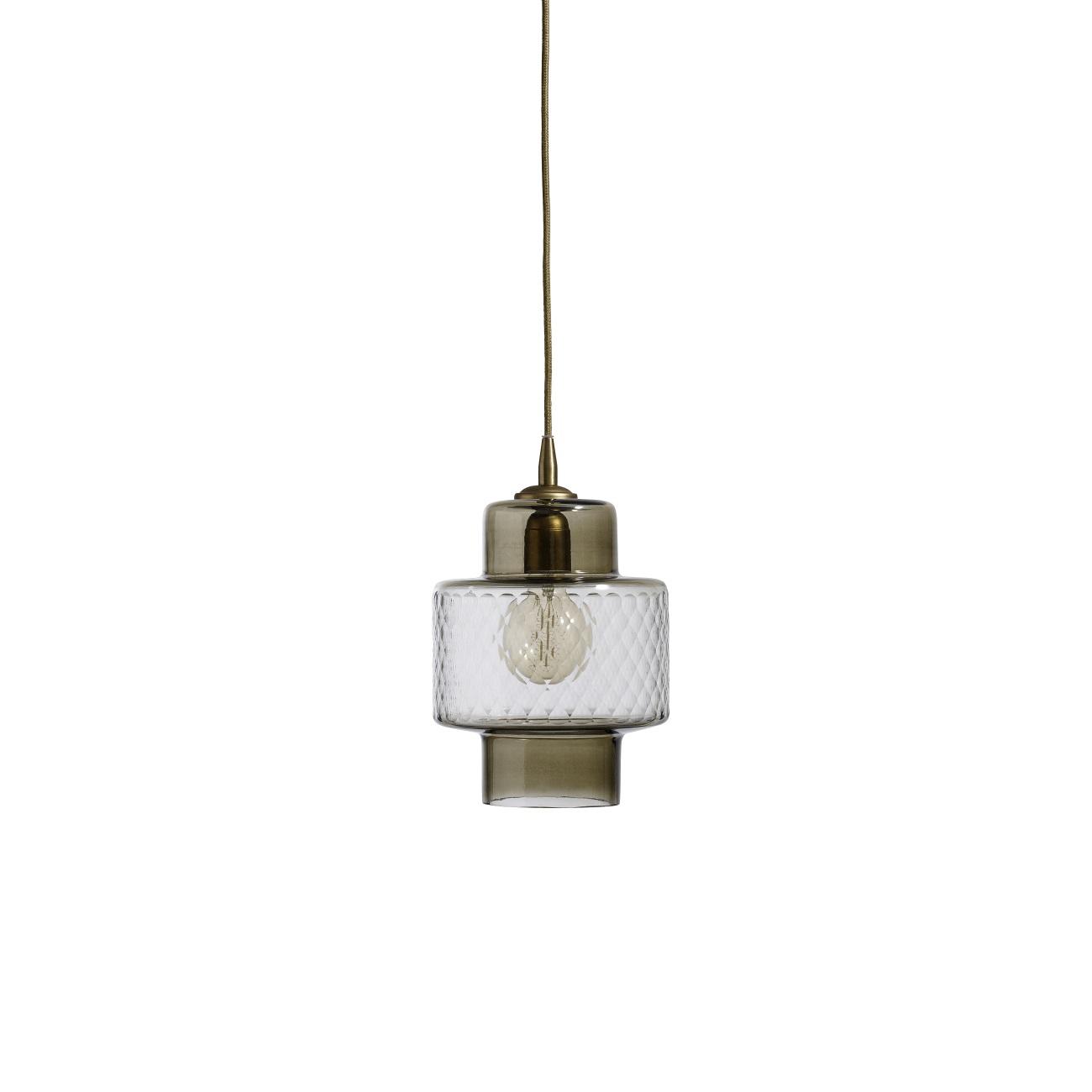 Lampa Smoke/ Cut glas, Nordal