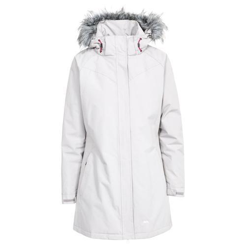 Trespass Women's Waterproof Winter Warm Parka Jacket Various Colours San_Fran - Pebble S