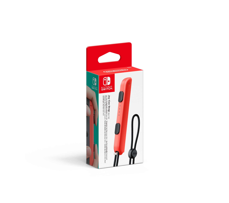 Nintendo Switch Joy-Con Controller Strap (Neon Red)