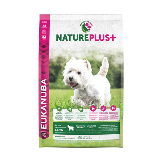 Eukanuba Nature Plus+ Adult Small Breed Lamb (2,3 kg)