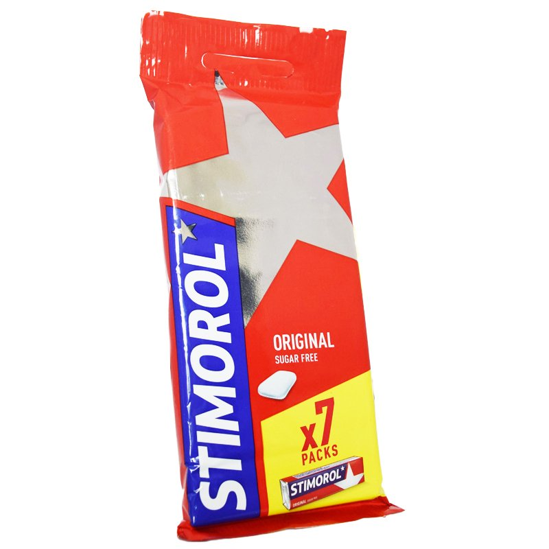 Tuggummin Original 7-pack - 16% rabatt