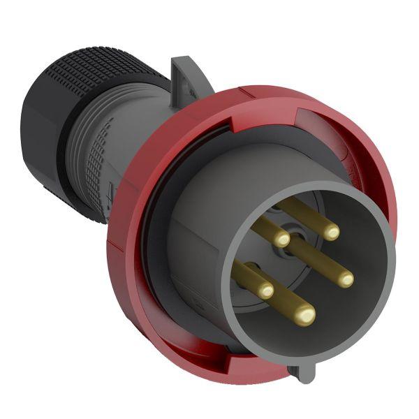 ABB 2CMA101112R1000 Pistotulppa IP67 Punainen, 32 A, 5-napainen