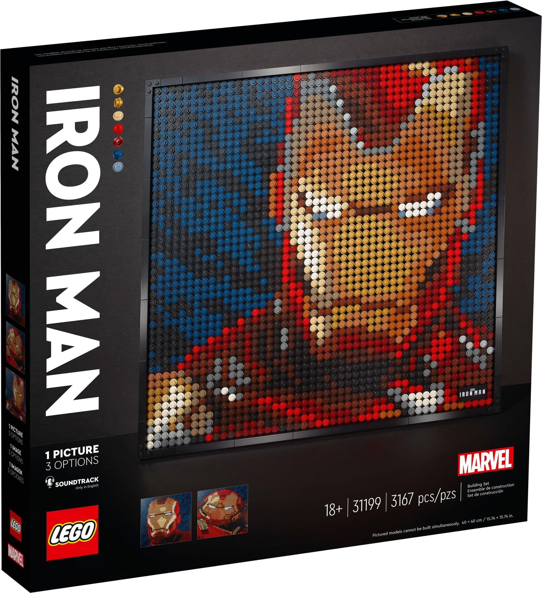 LEGO Art - Marvel Studios Iron Man (31199)