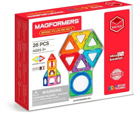 Magformers Byggesett Basic Plus 26