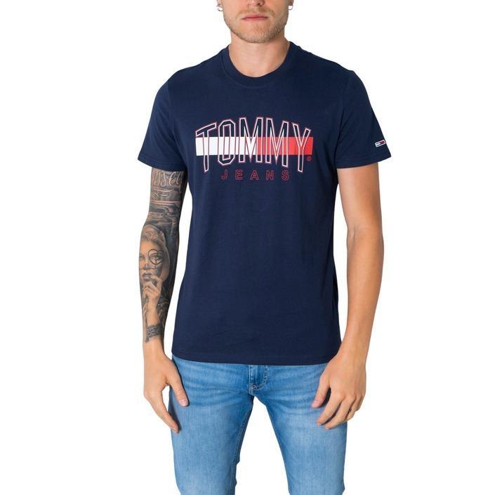 Tommy Hilfiger Jeans Men's T-Shirt Various Colours 305447 - blue S