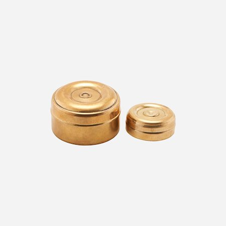 Oppbevaringskrukke Mini Messing 2 størrelser h: 3 cm