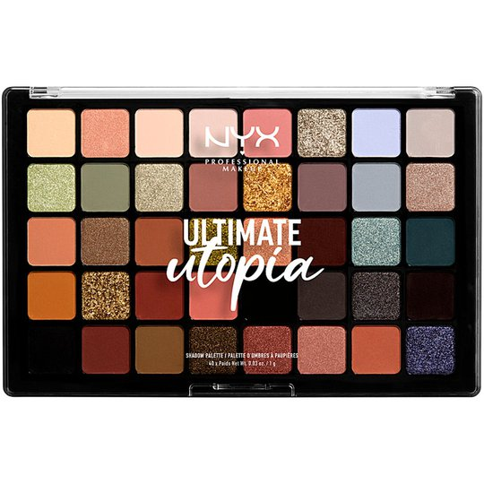 Ultimate utopia Shadow Palette 40, NYX Professional Makeup Luomiväripaletit
