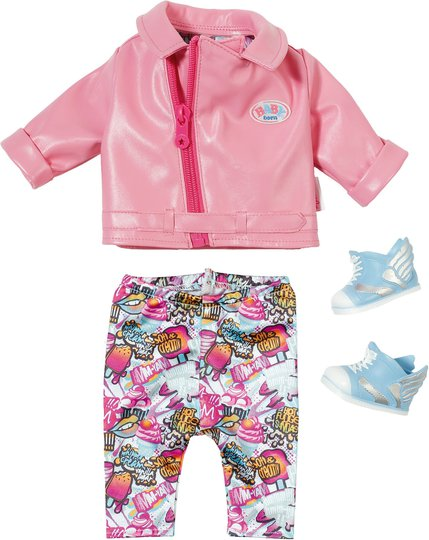 Baby Born Play&Fun Dukkeklær Deluxe Scooter Outfit