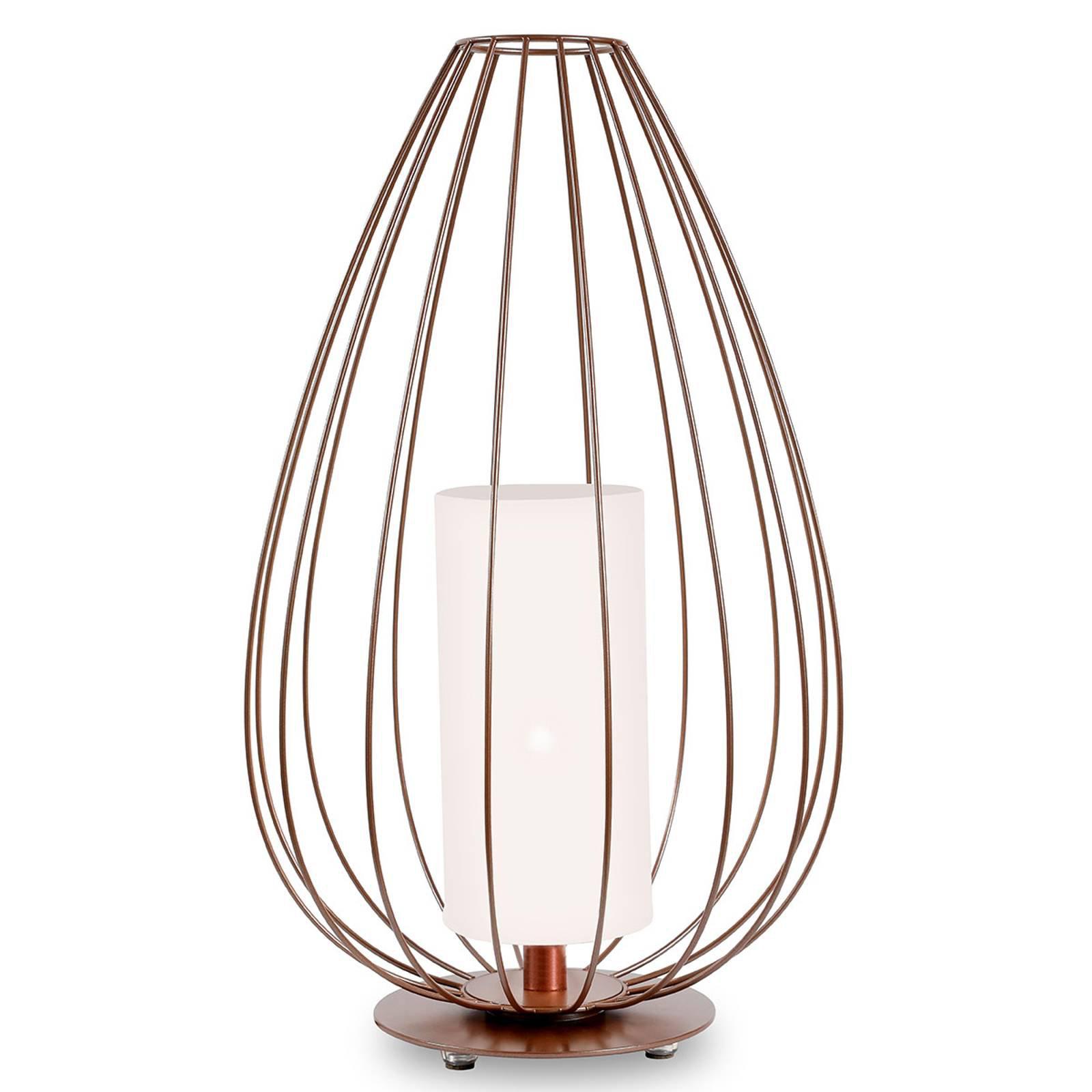 Karman Cell - bur-gulvlampe, bronse, Ø55cm