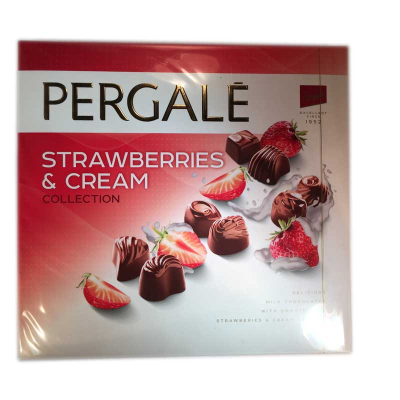 Chokladask Pergale Jordgubb - 50% rabatt