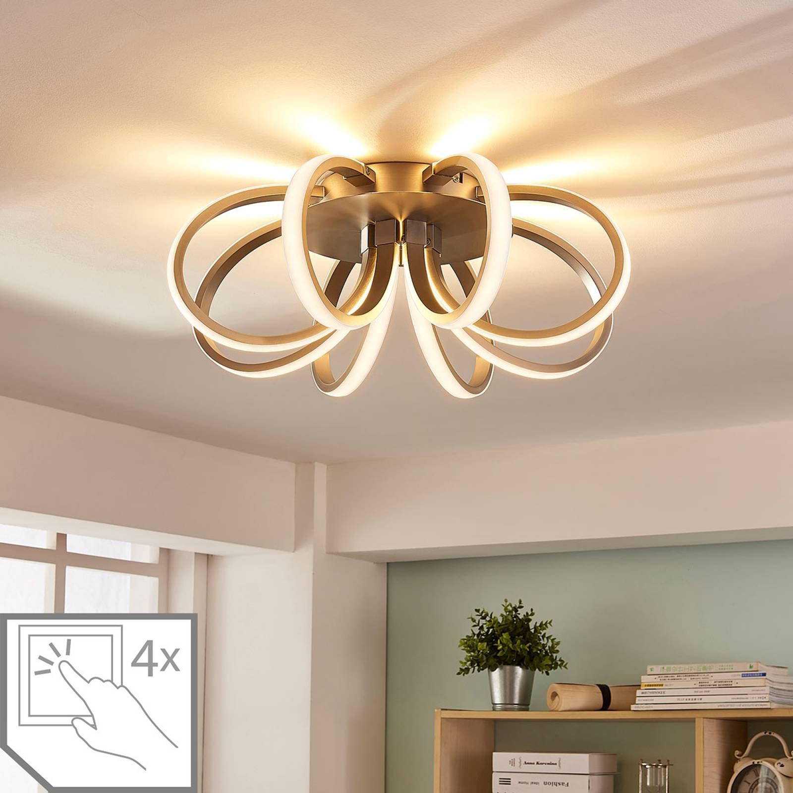Blomsterformet LED-taklampe Vada